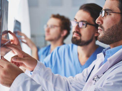 lekarze, doctors, X-rays, RTG, diagnoza, diagnostic